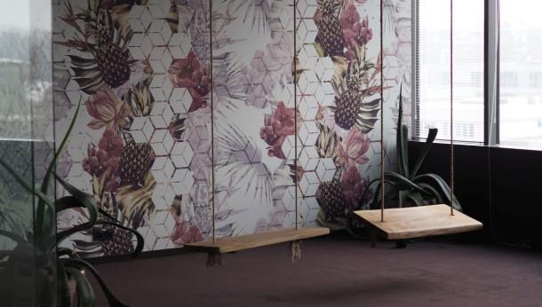 Ściana w biurze - inspiracje Muraspec