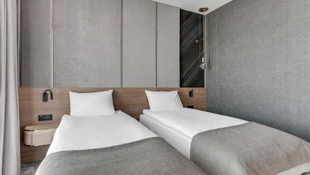 Antybakteryjne tapety Muraspec w Grano Hotel