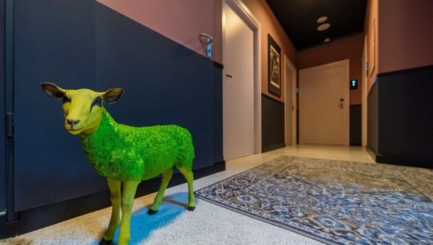 Tapety Muraspec w Sleep Well Boutique Hotel