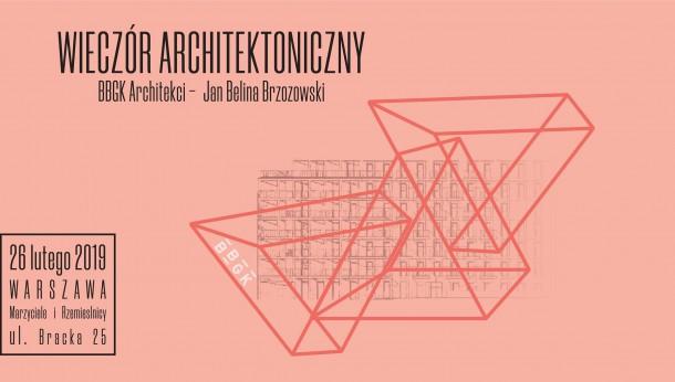 Muraspec na Wieczorze Architektonicznym z  BBGK Architekci w Warszawie